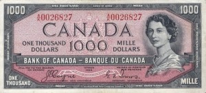 1954-1000-bank-of-canada-front-devils-face